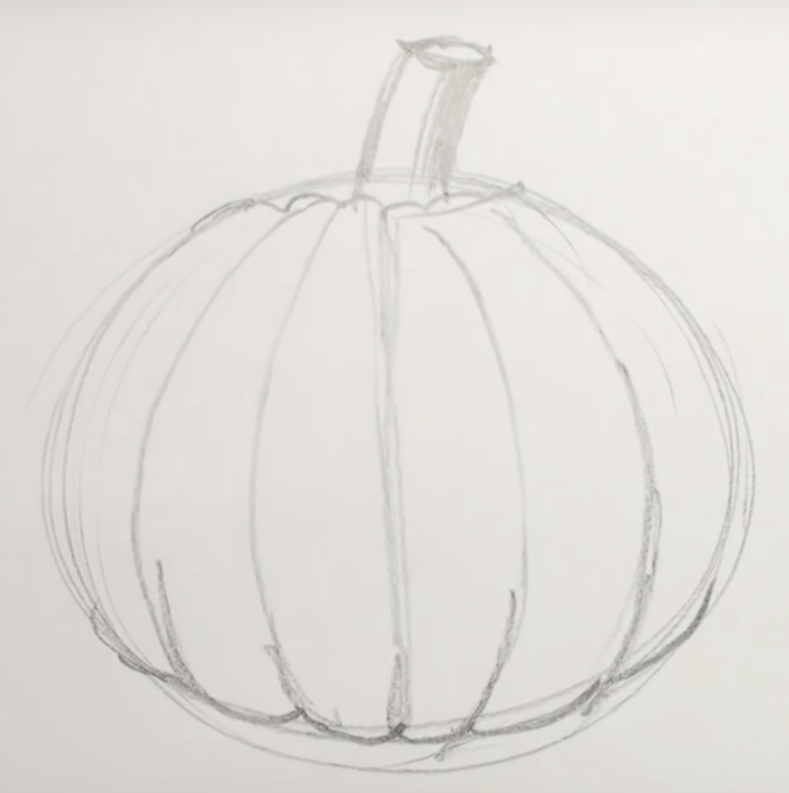 Halloween Drawings Are Scary In Stages How To Draw A Halloween Pumpkin In Pencil In Stages